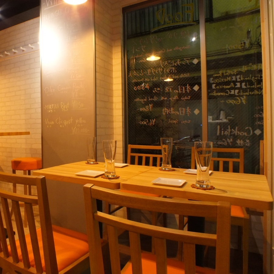 Open table table at the entrance.If you open the open window you can enjoy the atmosphere like a terrace ♪ Women's Association · birthday party · It is perfect for using on anniversary and family ♪