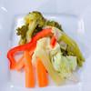Seasonal vegetable pickles