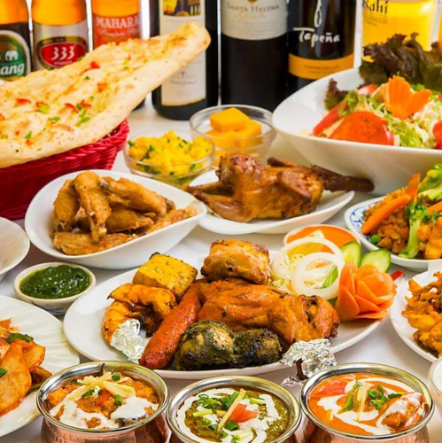 Masala kitchen's Indian food standard 【All 8 items】 2h with all you can drink! «India B course» 4990 yen (excluding tax)