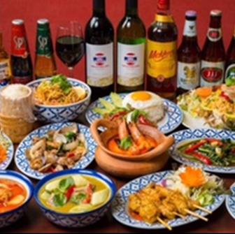 마사라 주방 태국 요리 클래식 [총 8 종] 2h 음료 뷔페 포함!«타이 B 코스 »4990 엔 (세금 별도)