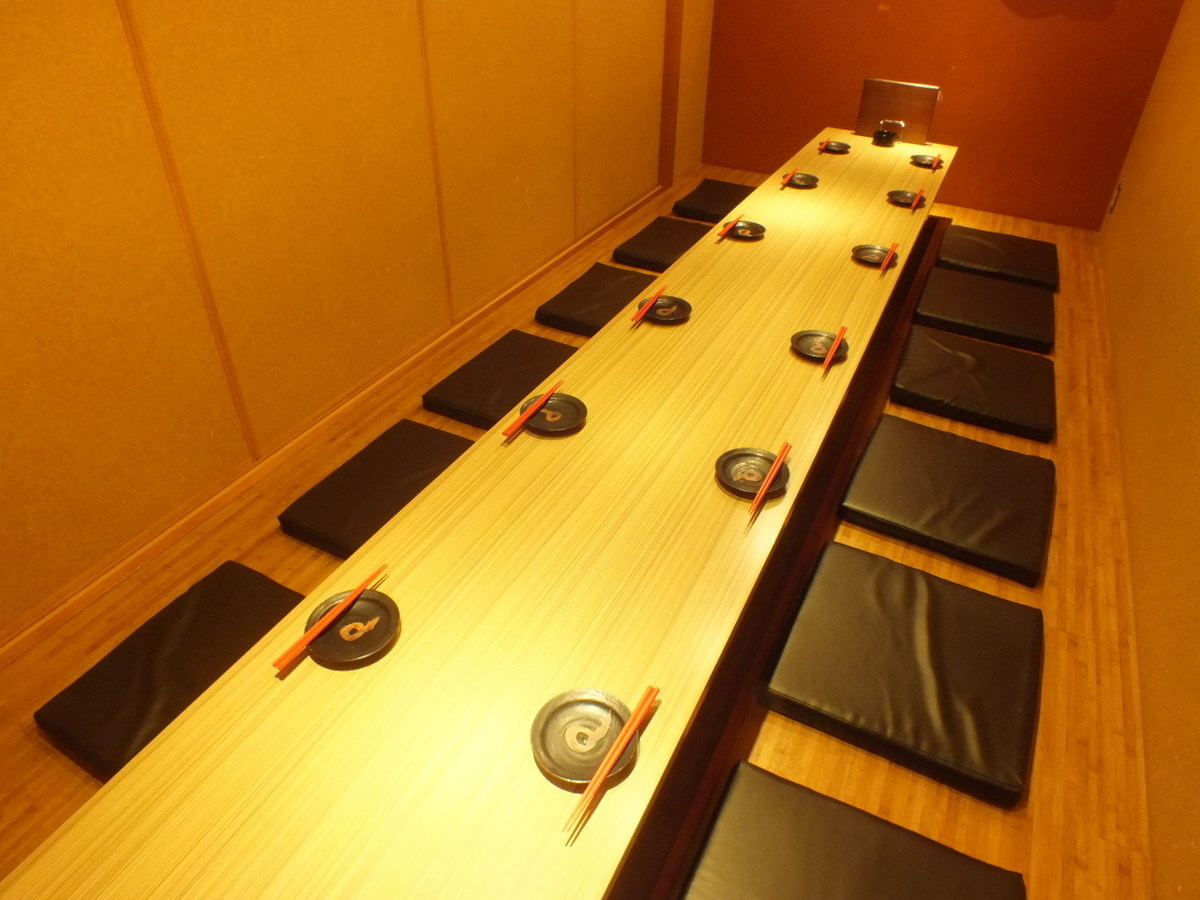 【All seats private room】 Please relax relaxingly with digging ♪ 2 people ~ maximum 50 people available OK!