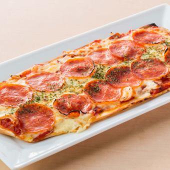 ■サラミチーズピザ