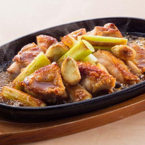 ■鶏鉄板焼き