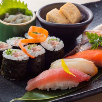 ■つまみ寿司の盛り合せ