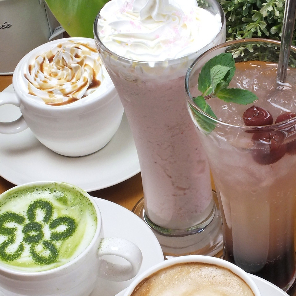 Recommended for evening cafe ★ Seasonal drinks appear one after another ♪