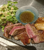 Shioro beef sirloin steak
