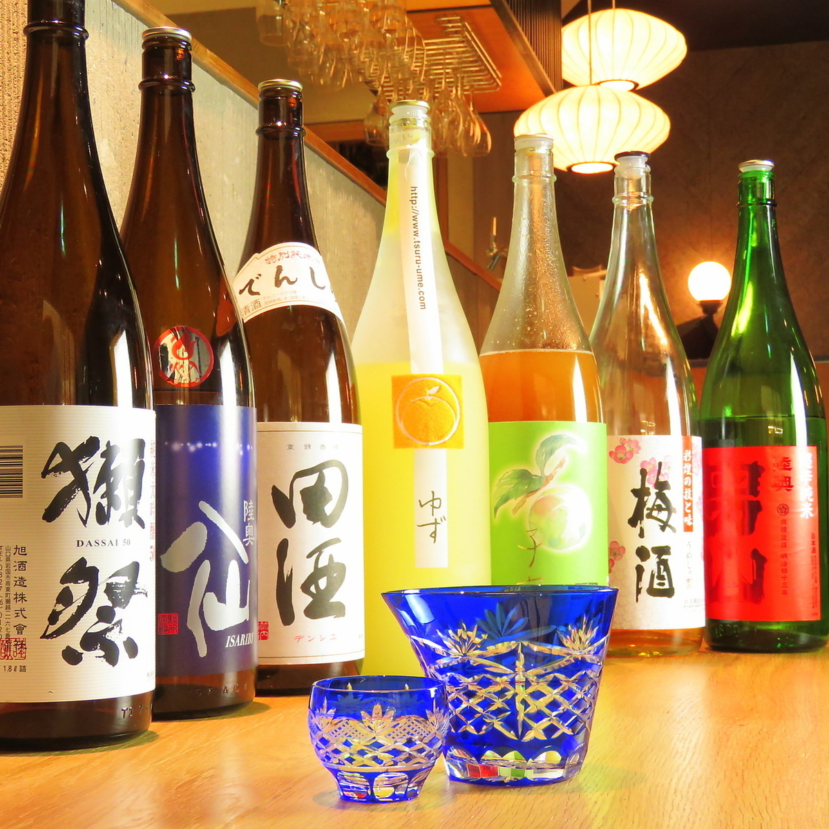 You can taste local sake
