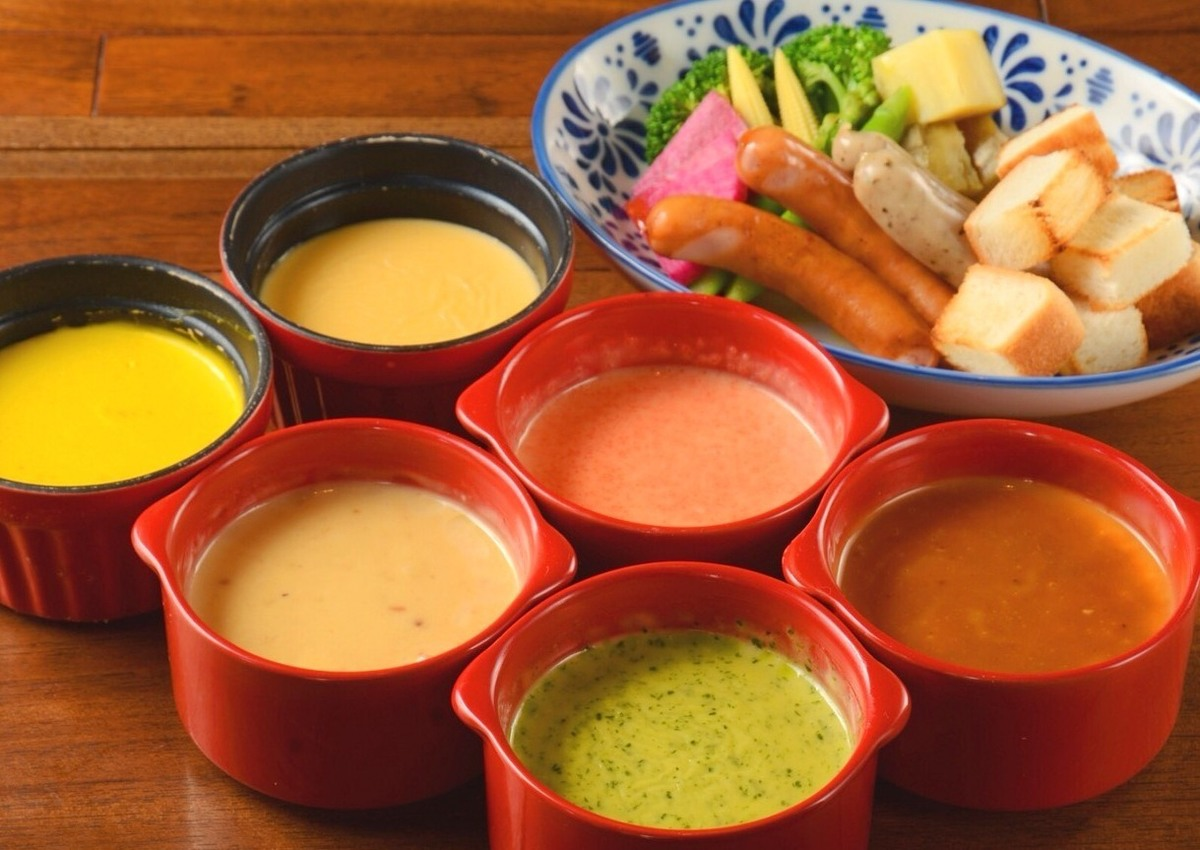 Very popular !! 【cheese fondue of voatcafe】