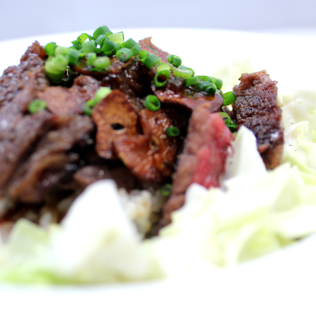 A4黒樺牛のBEEF WITH ライス