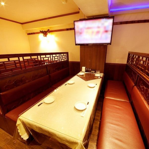 Must-see for the secretary! Perfect for launch, party etc.! Full-size TV, complete with microphone lending! There is also karaoke !! For details please contact the staff !!