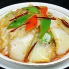 Stir-fried Chinese cabbage with black vinegar