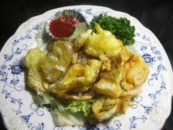 炸薯條(用生土豆使用)