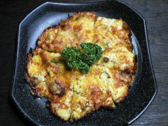 培根比薩/大蒜培根比薩/蘑菇培根比薩/蔥花培根比薩