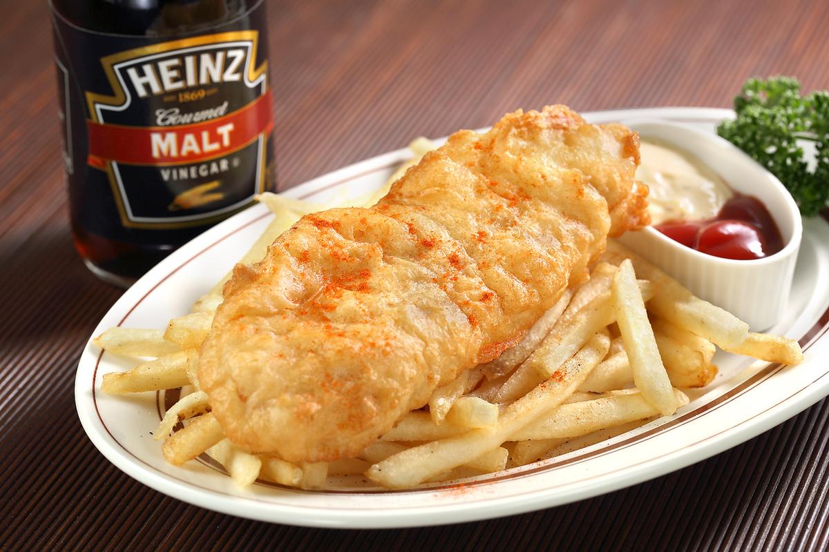 今天的鱼和薯条