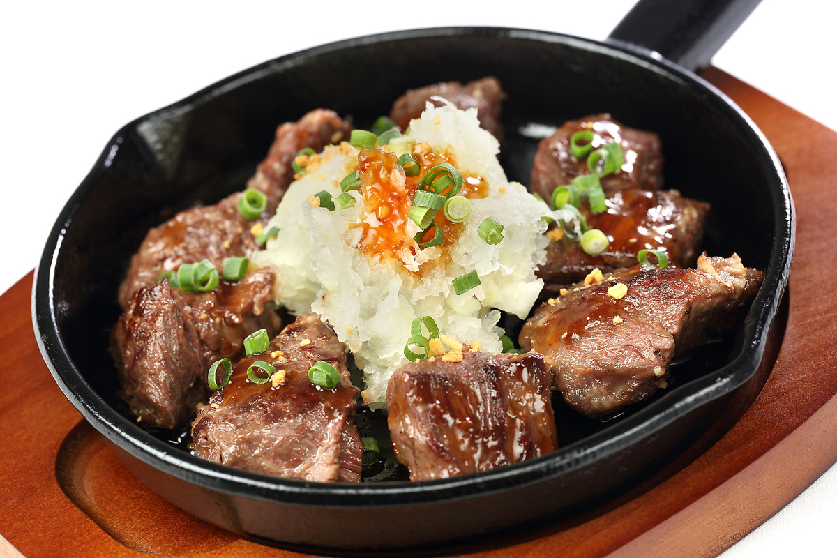 Dice steak