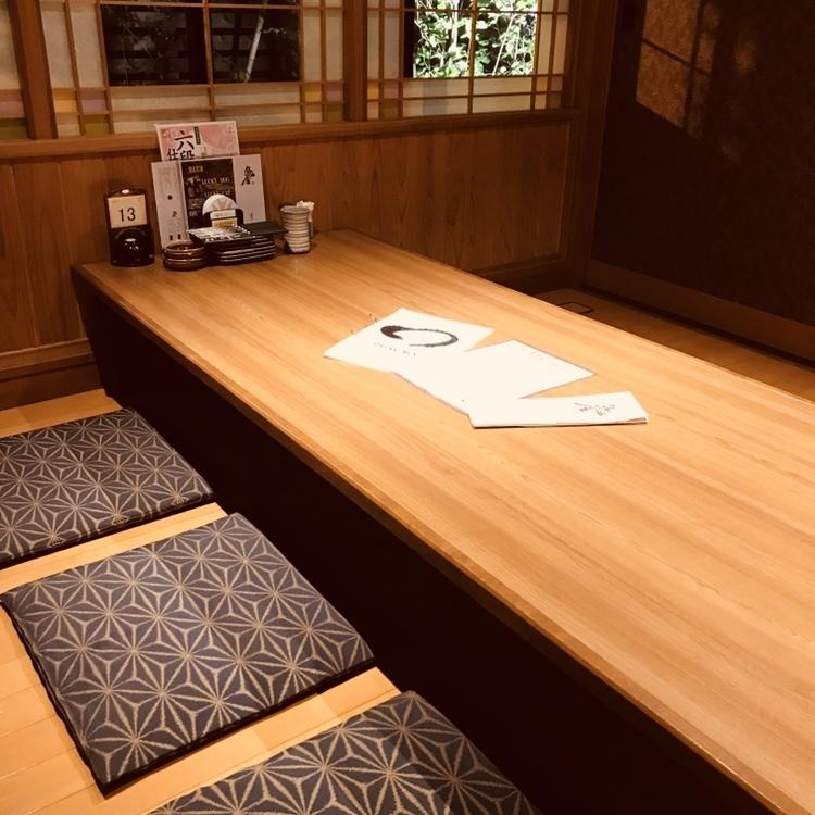 適合4至6位客人入住的座位供家庭使用。它是半個單人間,所以你可以享受它而不用擔心周圍的眼睛。
