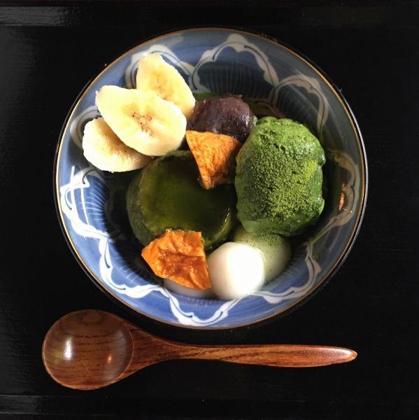 【甘味】カフェタイムはこだわりの抹茶スイーツを!