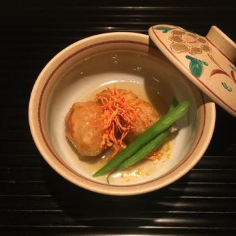【滿月】烏龜座餐!推薦給那些想要享受時令美食的人,特別是清酒【4860日元】(全友暢飲全友暢飲)