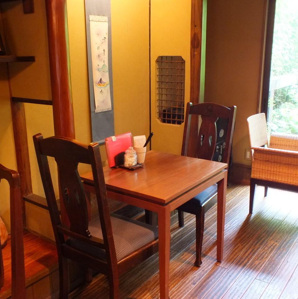 這將是一個2人的桌子。