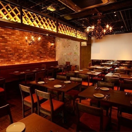Shibuya's rental center in the middle! Shop rental for 80 guests ~ Area rental for 30 to 50 people can be guided.Party space with projector! Please consult surprise production ※! The table charge is 400 yen per person.