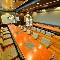 We accept private areas available for 20 to 30 people.