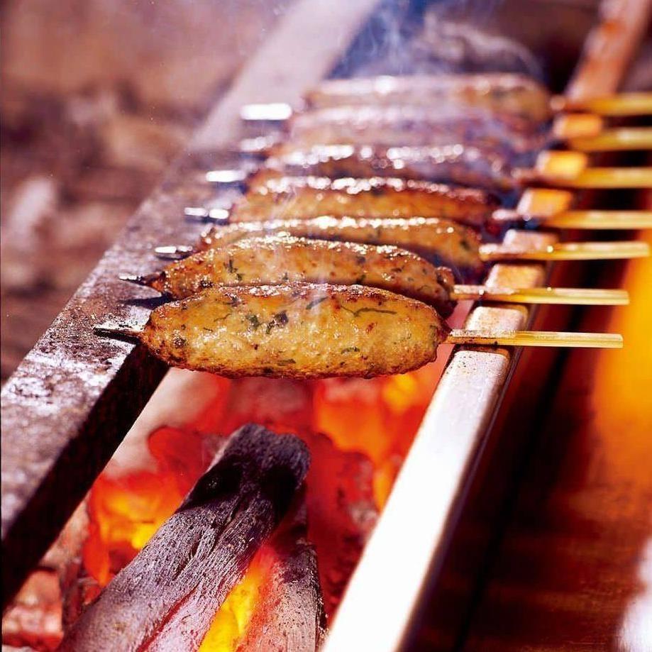 【直接生產地方】準備煮沸的烤箱烘焙食品。還有一個烤架