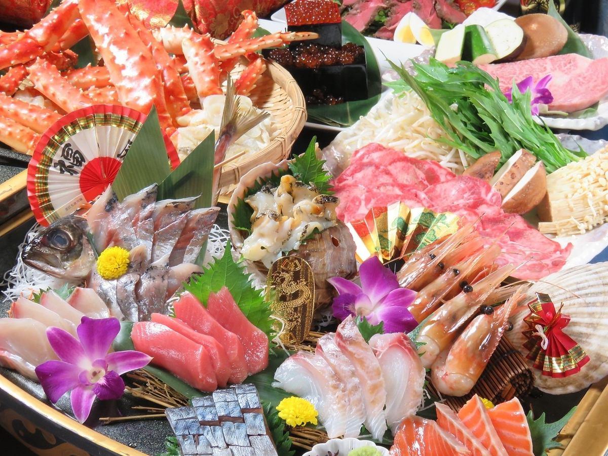 Sengoku Kotobuki extraordinary boat prime Sashimi 10 sashimi are worth a visit!