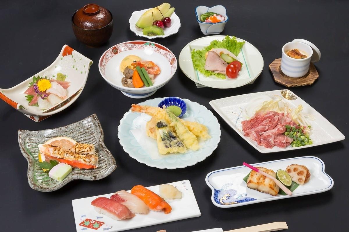 日本料理から和中料理まで