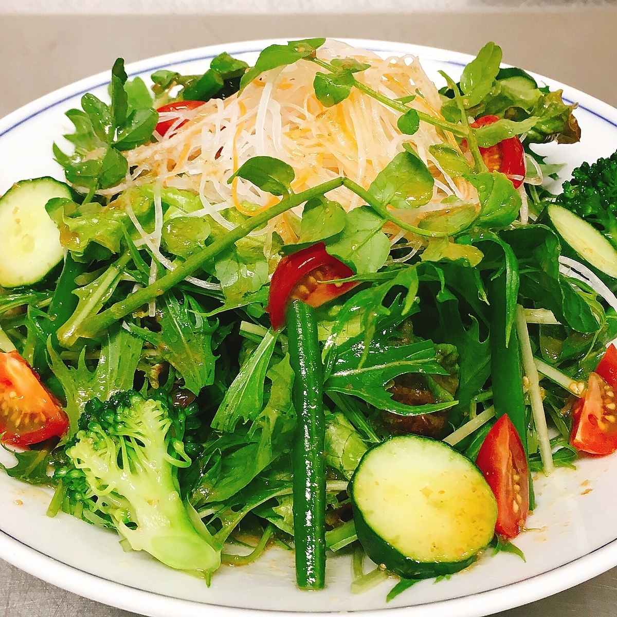 A salad of only KOVACHI's vegetables