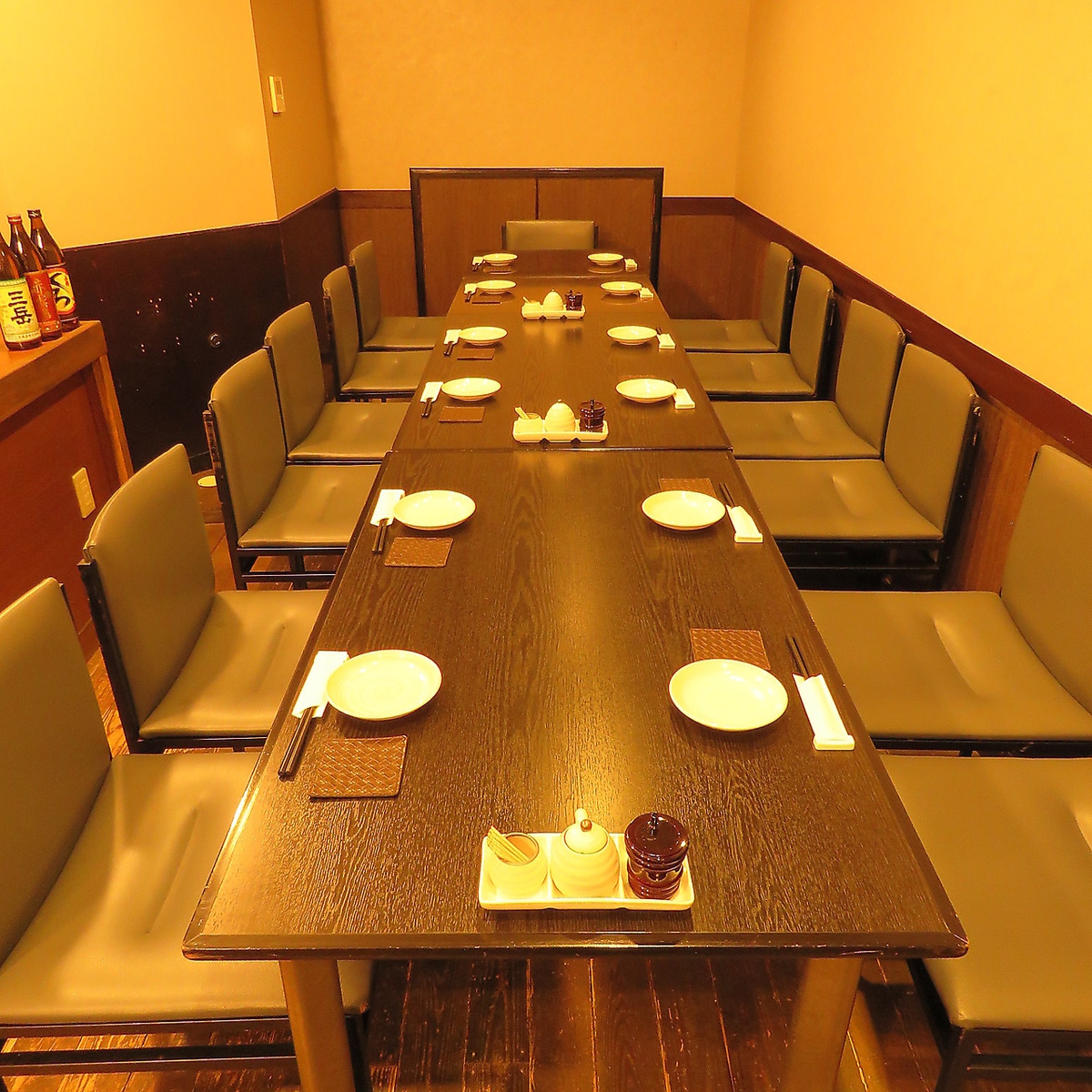 It is a table that can be used up to 14 people ♪