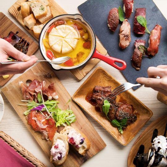 "★ Bonengai! ___ Cow, Pork, Chicken! Three kinds of cut steak ""All you can eat"" ___ 120 ___ ___ 0 ___ ___ 0"