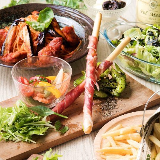 ◇ ◆ 고기 초밥 점심 ◆ ◇ 구이 고기 스시 & 고기의 한마디 구이 모듬있는 런치 코스 <120 분 음료 뷔페 포함>