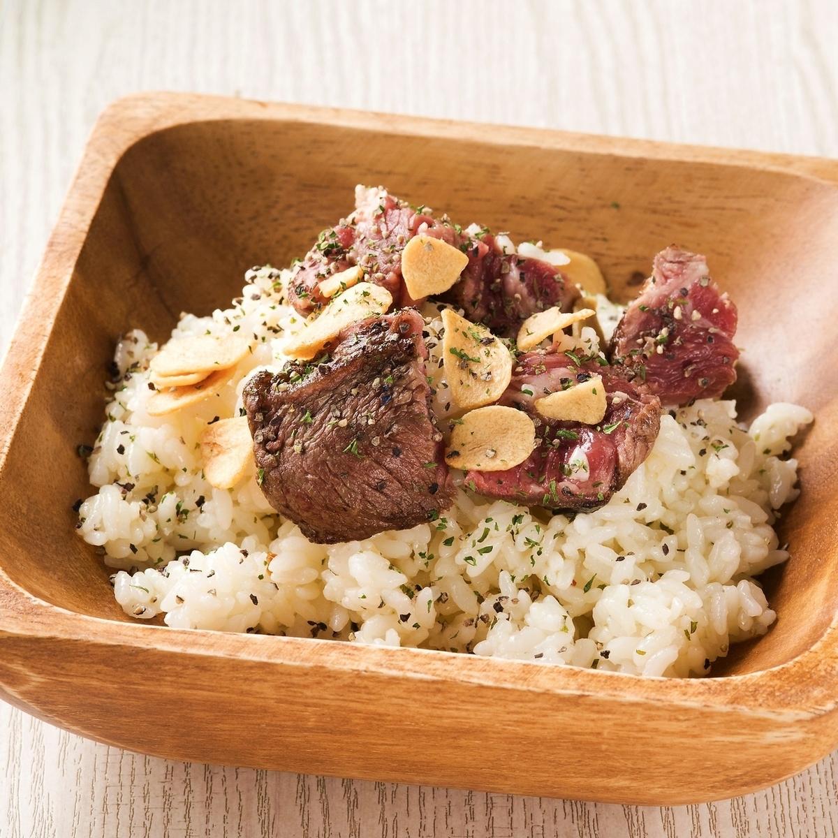 NIKU garlic rice