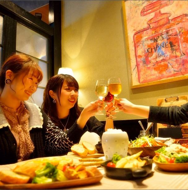 Private room for girls' party · birthday party ☆ Private room to be enjoyed ♪ 2 people ~ Private rooms available are dates ◎ Christmas course also appeared!