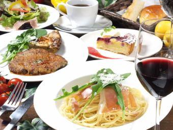 【課程B】肉類課程3240日元