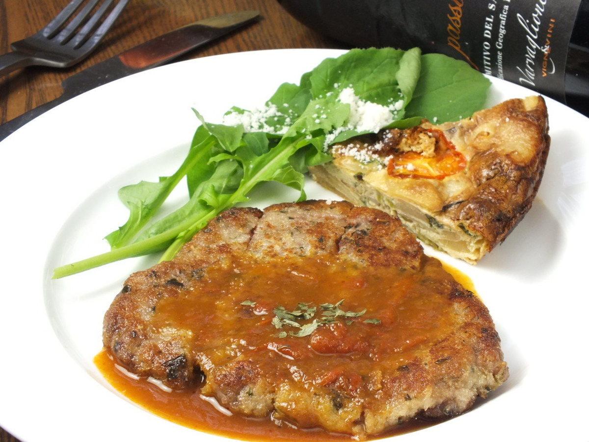 黑色和牛牛肉米蘭風格炸肉排