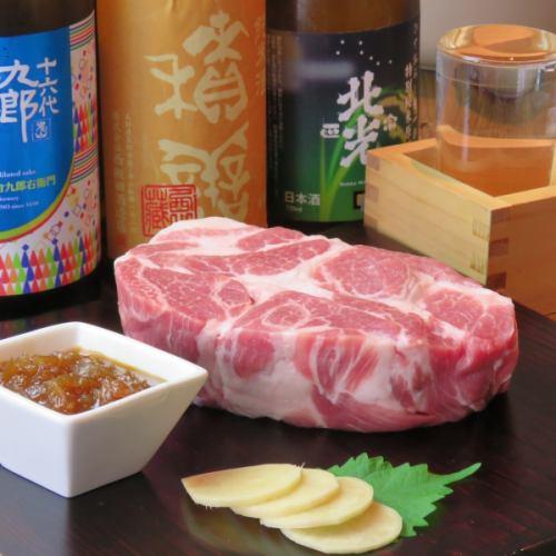 2h 음료 뷔페 포함 【런치 대 호평의 톤테키를 먹을 수] 코스 6 종 4000 엔