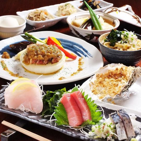 【Important time at the course of the Park's proud boat ♪】 Kaiseki course 7 items 5000 yen