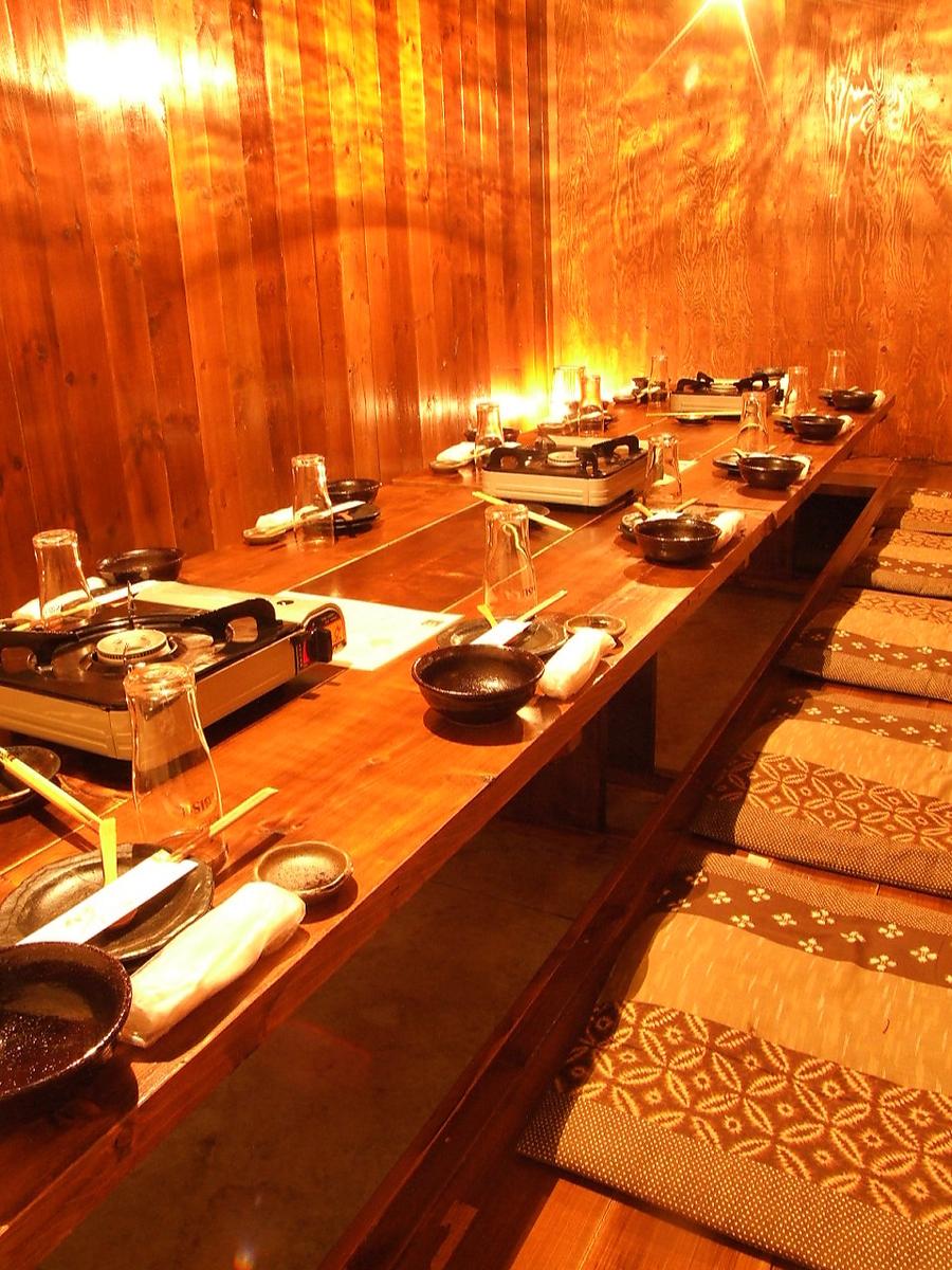 Horigotatsu私人房間是最多的8至14人