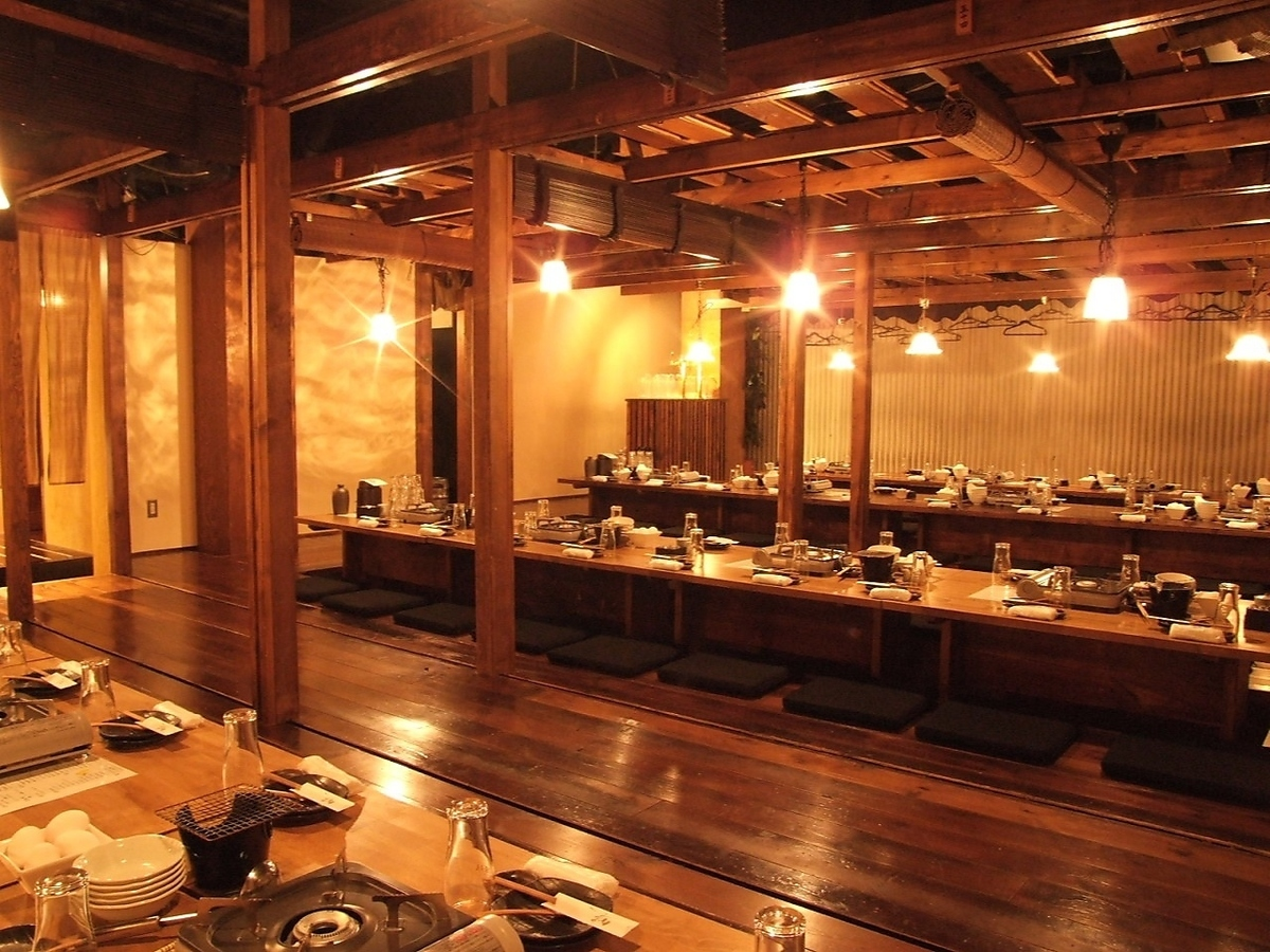 Horigotatsu私人房間可容納70至100人