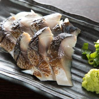 炙りシメ鯖