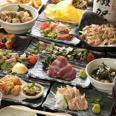 【3~4月歓送迎会コース】3時間飲み放題付!お料理全9品♪4000円!金土祝前は2.5時間
