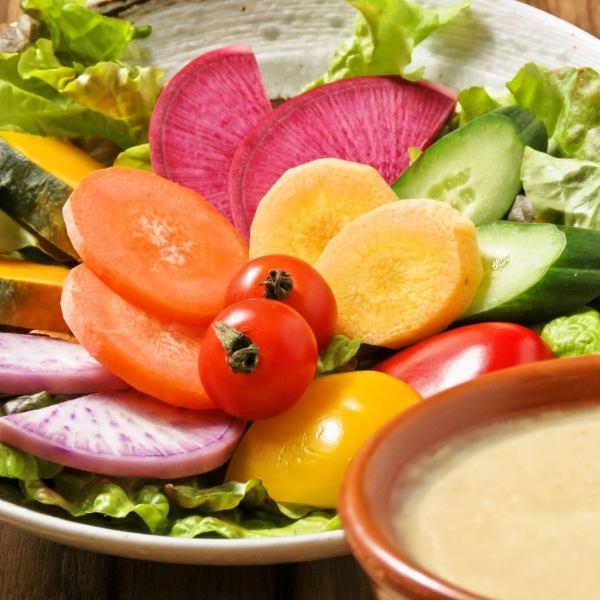 馬栗樹的蔬菜【使用材料的味道的有機蔬菜】