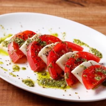 フレッシュトマトとモッツァレラのカプレーゼ