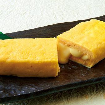 濃厚チーズ入り厚焼玉子