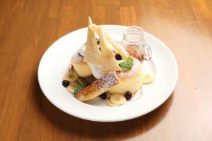 焦糖香蕉法式千層酥煎餅