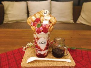 Nagoya first !! New York egg waffle 【limited time】 strawberry egg waffle × smear