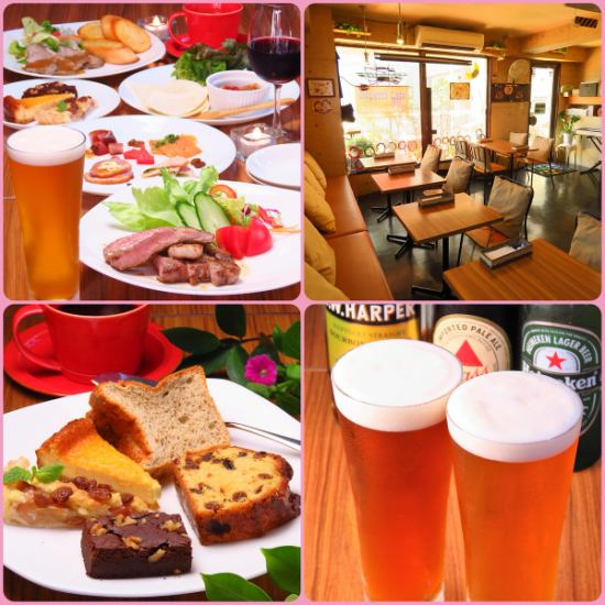 A great lunch at noon, Western food dining where music lovers gather at night ♪ Feeling cozy inside ◎