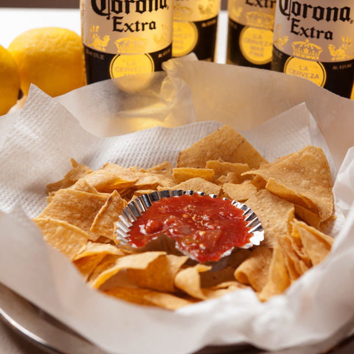 Mexican salsa chips