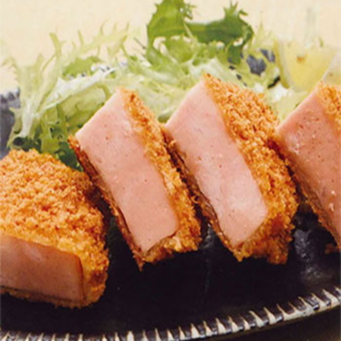 Ultra thick thick ham cutlets